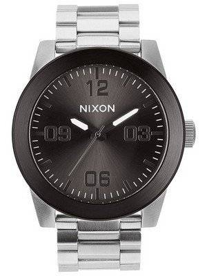 Nixon Corporal SS Gunmetal Dial A346-1762-00 Men's Watch