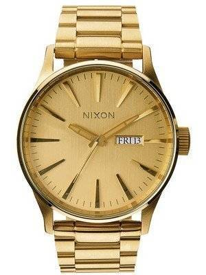 Nixon Sentry SS All Gold A356-502-00 Men's Watch