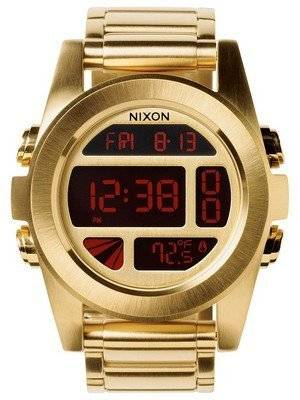 Nixon Unit Dual Time Alarm Digital A360-502-00 Men's Watch