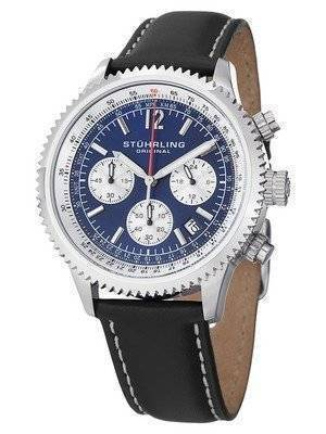 Stuhrling Original Monaco Chronograph Swiss Quartz 669.02 Men's Watch