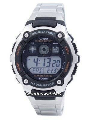 Casio Sport Digital World Time AE-2000WD-1AVDF AE-2000WD-1AV Men's Watch
