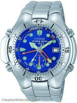 Citizen Analog Aqualand Diver Depth Meter Promaster AL0050-57L