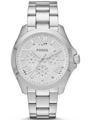 Fossil Cecile Multifunction Silver-Tone Stainless Steel AM4509 Women's Watch