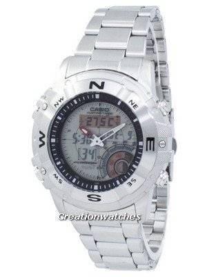 Casio Outgear Hunting Timer Illuminator Compass AMW-704D-7AV AMW704D-7AV Men's Watch