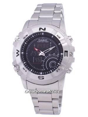 Casio Analog Digital Out Gear Hunting Timer AMW-705D-1AVDF AMW-705D-1AV Men's Watch