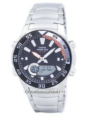 Casio Analog Digital Marine Gear AMW-710D-1AVDF AMW-710D-1AV Men's Watch
