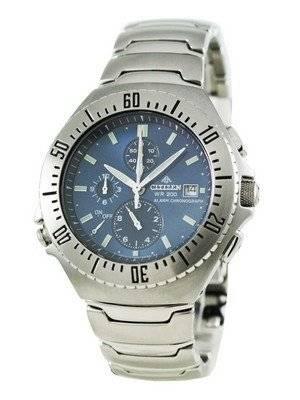 Citizen Promaster Alarm Chronograph Sapphire AN2070-56L Men's Watch