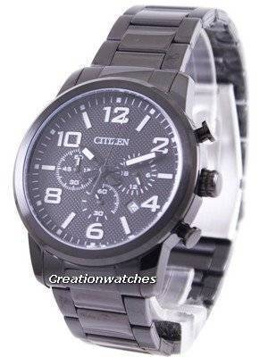 Citizen Black IP Quartz Chronograph AN8055-57E Men's Watch