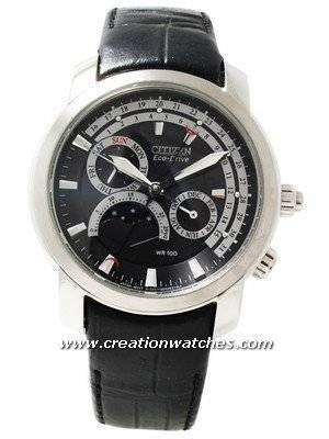 Citizen Eco Drive Moon Phase AP1001-19E Watch
