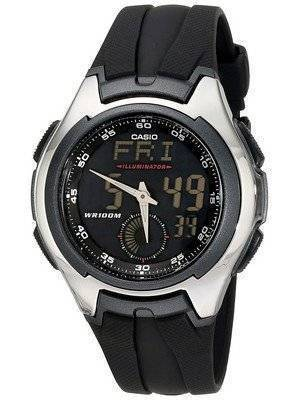 Casio Analog Digital Classic Illuminator AQ-160W-1BVDF AQ-160W-1BV Men's Watch