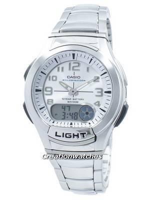 Casio Youth Illuminator Analog Digital AQ-180WD-7BV AQ180WD-7BV Men's Watch