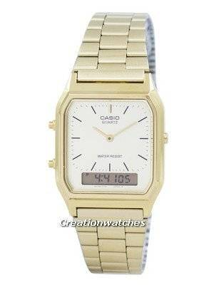 Casio Quartz Analog Digital Gold Tone AQ-230GA-9DMQYES Men's Watch