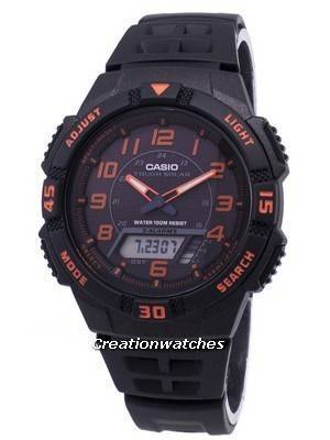Casio Analog Digital Tough Solar AQ-S800W-1B2VDF AQ-S800W-1B2V Men's Watch