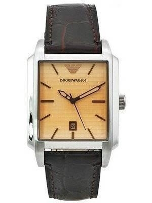 Emporio Armani Classic Beige Dial AR0477 Men's Watch