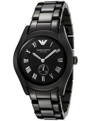 Emporio Armani Ceramica Black AR1402 Women's Watch