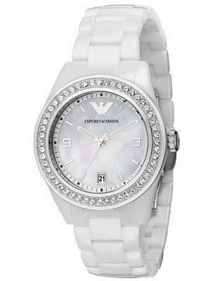Emporio Armani Ceramica Swarovski Crystals AR1426 Women's Watch