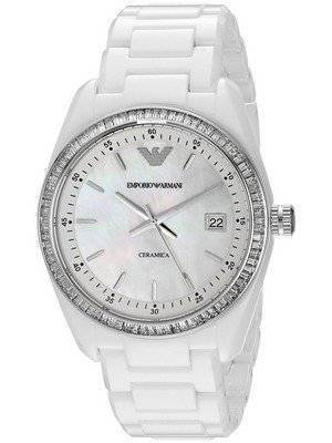 Emporio Armani Ceramica Crystals AR1497 Women's Watch