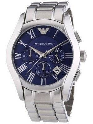 Emporio Armani Classic Chronograph Blue Dial AR1635 Men's Watch
