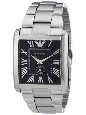 Emporio Armani Classic Black Dial AR1642 Men's Watch