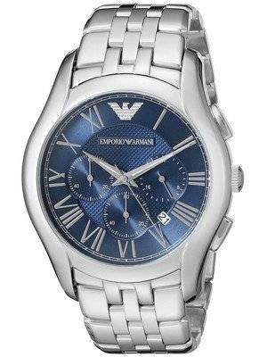 Emporio Armani Classic Chronograph Navy Blue Dial AR1787 Men's Watch