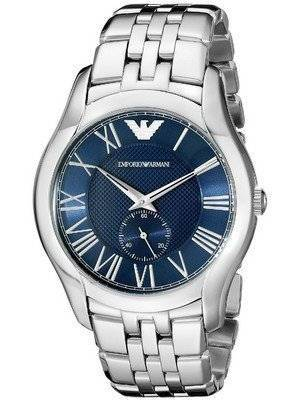 Emporio Armani Classic Textured Blue Dial AR1789 Men's Watch