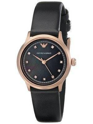 Emporio Armani Classic Rose Gold Crystals AR1802 Women's Watch
