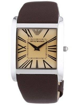 Emporio Armani Classic Super Slim Quartz AR2018 Men's Watch