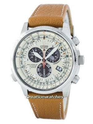 Citizen Promaster Sky Pilot Eco-Drive Radio Controlled Chronograph AS4020-44B Men's Watch