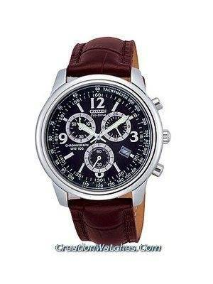 Citizen Eco Drive Chronograph AT0121-00L Leather