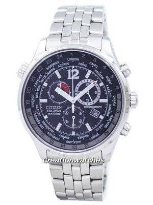 Citizen Eco Drive Men's Chronograph World Time AT0360-50E AT0360