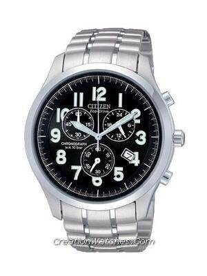 Citizen Men's Eco Drive Chronograph AT0370-56F AT0370