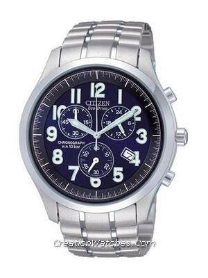Citizen Men's Eco Drive Chronograph AT0370-56L AT0370