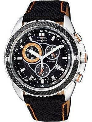 Citizen Gent's Eco Drive Chronograph Watch AT0609-02E