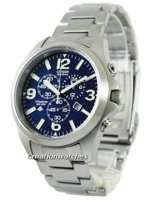 Citizen Promaster Eco-Drive Titanium 200M AT0660-64L Men's Watch