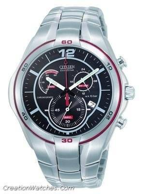 Citizen  Eco-Drive  Chronograph AT1085-57F