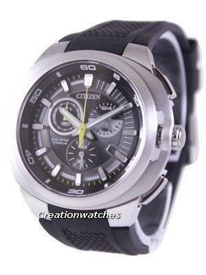 Citizen Eco-Drive Chronograph Super Titanium AT2025-02E AT2025 Men's Watch
