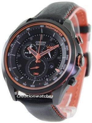 Citizen WDR Eco-Drive Chronograph Tachymeter AT2185-06E Men's Watch