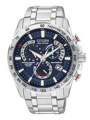 Citizen Eco Drive Limited Edition Atomic Perpetual Chronograph AT4009-59L Mens Watch
