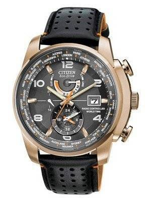 Citizen Eco-Drive Perpetual Atomic World Time AT9013-03H