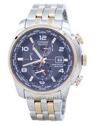 Citizen Eco-Drive Radio Controlled World Time AT9016-56H Men's Watch
