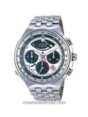 Citizen Promaster Eco Drive Chronograph AV0020-55A AV0020 Titanium Men's Watch