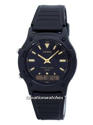 Casio Analog Digital Quartz Dual Time AW-49HE-1AVDF AW49HE-1AVDF Men's Watch