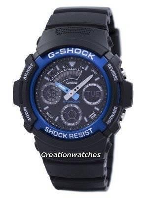 Casio Gshock Analog-Digital World Time AW591-2ADR AW591-2A Men's Watch