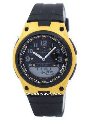 Casio Illuminator World Time Analog Digital AW-80-9BV AW80-9BV Men's Watch