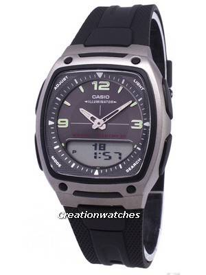 Casio Analog Digital Telememo Illuminator AW-81-1A1VDF AW-81-1A1V Men's Watch
