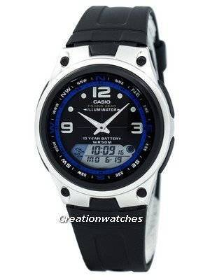 Casio Analog Digital Out Gear Fishing Illuminator AW-82-1AVDF AW-82-1AV Men's Watch