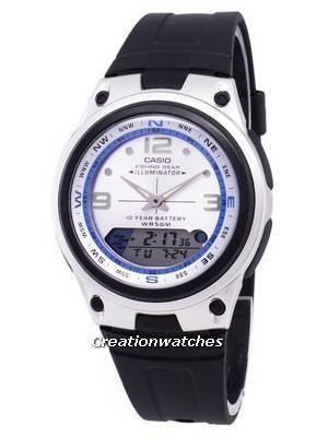 Casio Analog Digital Out Gear Fishing Illuminator AW-82-7AVDF AW-82-7AV Men's Watch