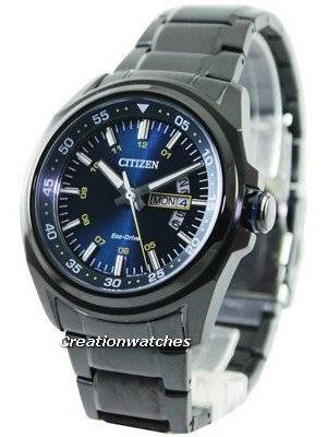 Citizen Eco-Drive Blue Dial Power Reserve AW0024-58L Men's Watch