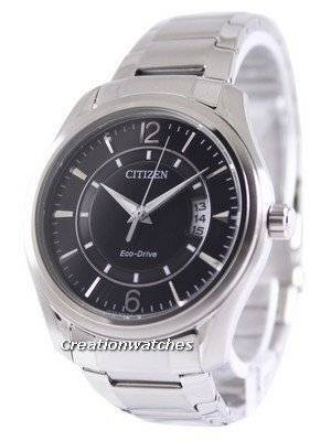 Citizen Eco-Drive Black Dial AW1030-50E Men's Watch