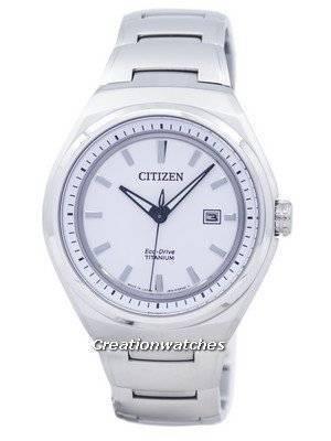 Citizen Eco-Drive Titanium Japan Made AW1251-51A Men's Watch